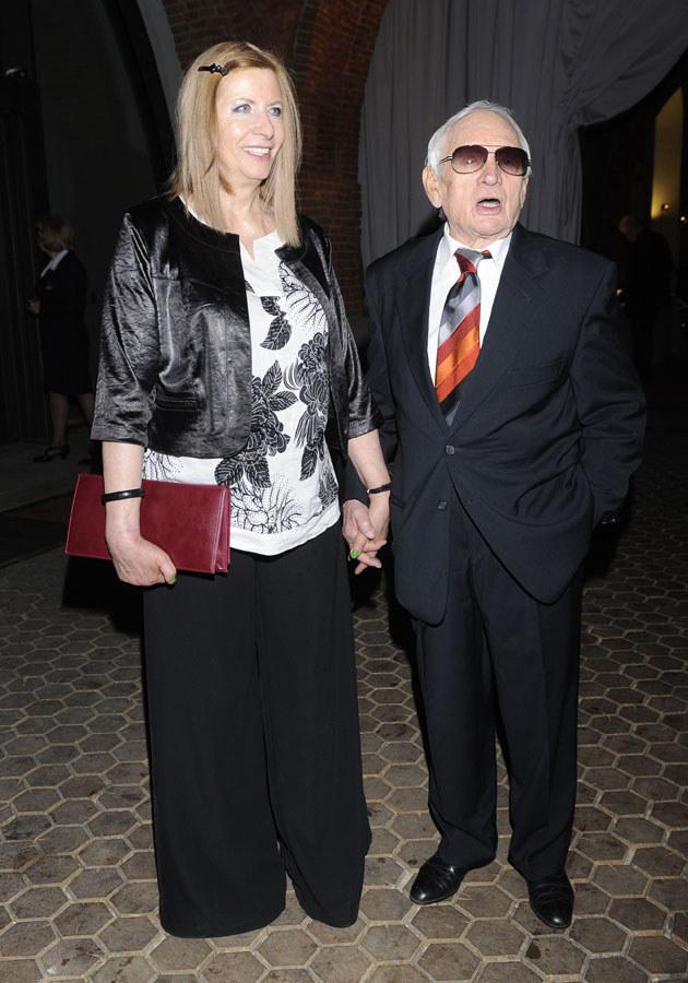 Witold Pyrkosz z żoną /Jarosław Antoniak /MWMedia