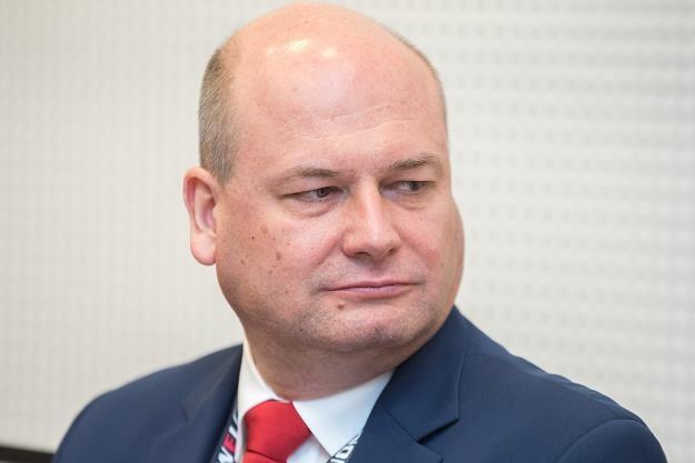 Witold Sóowik, podsekretarz stanu w Ministerstwie Rozwoju. Fot. Łukasz Piecyk /Reporter
