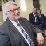 Witold Waszczykowski: Białorusini nie mówią po polsku? Nauczą się