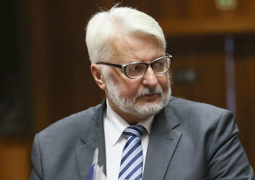 Witold Waszczykowski do zagranicznych dziennikarzy: Protesty przygotowane wcześniej /PAP/EPA