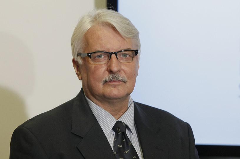 Witold Waszczykowski nie miał zaufania do ambasadora RP w Kanadzie /Szymczak Krzysztof /East News