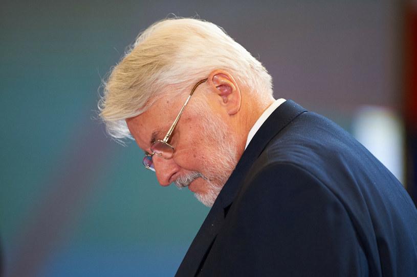 Witold Waszczykowski przyznał niedawno, że mierzy się z polineuropatią /Fot. Lukasz Szelag/REPORTER /Reporter