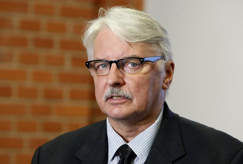 Witold Waszczykowski, szef MSZ /Szymczak Krzysztof /East News