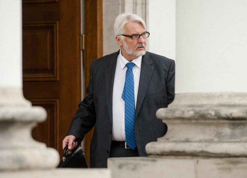 Witold Waszczykowski, szef MSZ /Rafał Oleksiewicz /Reporter