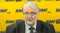 Witold Waszczykowski w Popołudniowej rozmowie w RMF FM