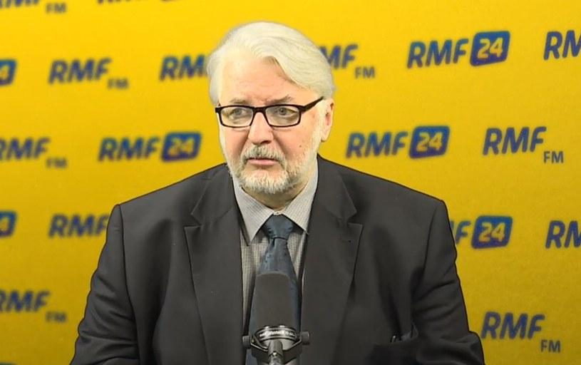 Witold Waszczykowski w RMF FM /RMF