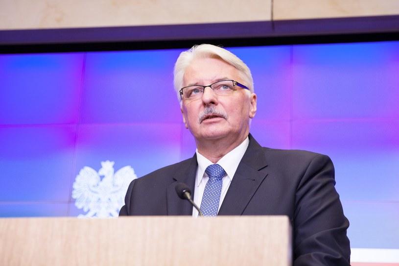 Witold Waszczykowski w wywiadzie dla fińskiego dziennika podkreślił, że najważniejszą rolą NATO pozostaje obrona członków sojuszu /fot. Aleksandra Szmigiel-Wisniewska/REPORTE /East News
