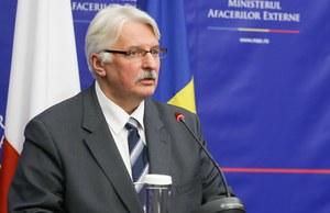 Witold Waszczykowski wystąpił do Komisji Weneckiej o opinię ws. TK