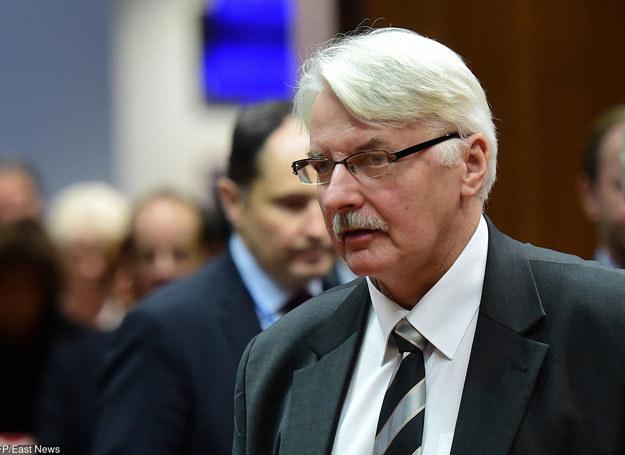 Witold Waszczykowski /EMMANUEL DUNAND /East News