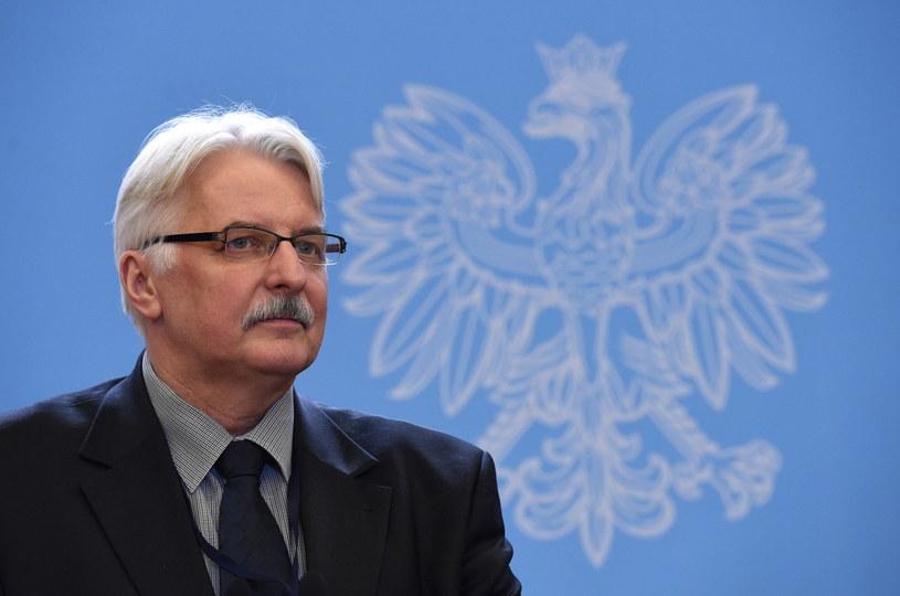 Witold Waszczykowski /Radek Pietruszka /PAP