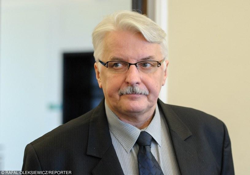 Witold Waszczykowski /Rafal Oleksiewicz /Reporter