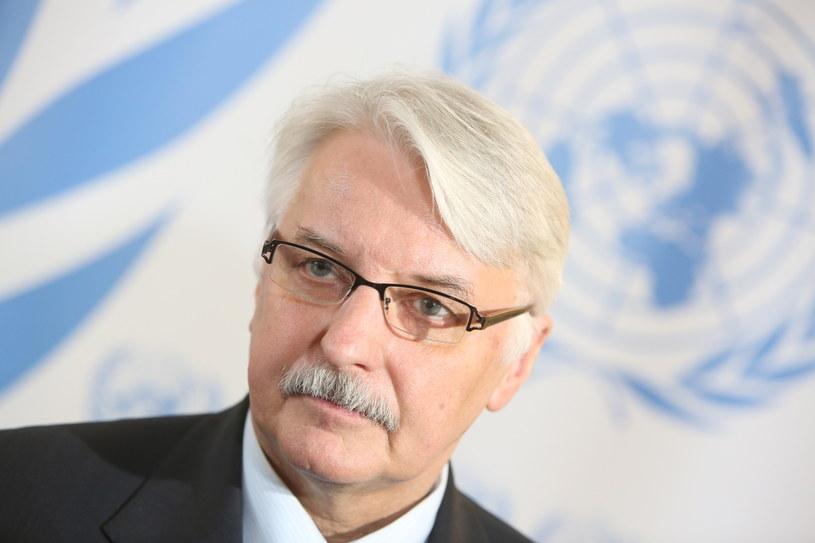 Witold Waszczykowski /Leszek Szymański /PAP