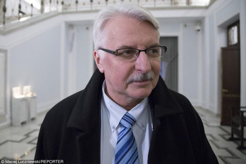Witold Waszczykowski /Maciej Luczniewski /Reporter