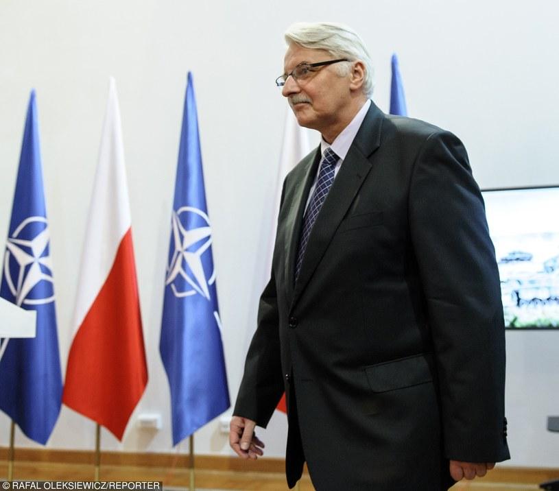 Witold Waszczykowski /Rafal Oleksiewicz/REPORTER /East News