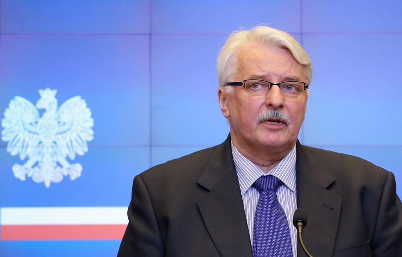 Witold Waszczykowski /Paweł Supernak /PAP