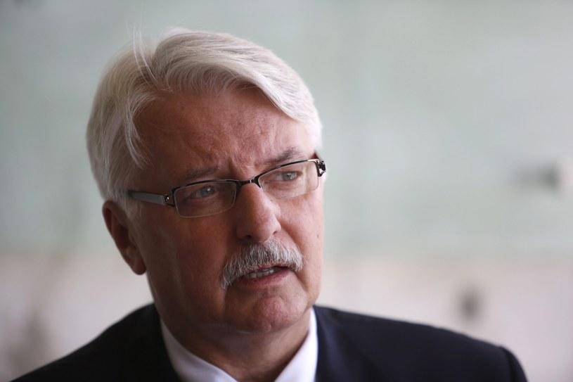 Witold Waszczykowski /EPA/ABIR SULTAN /PAP/EPA