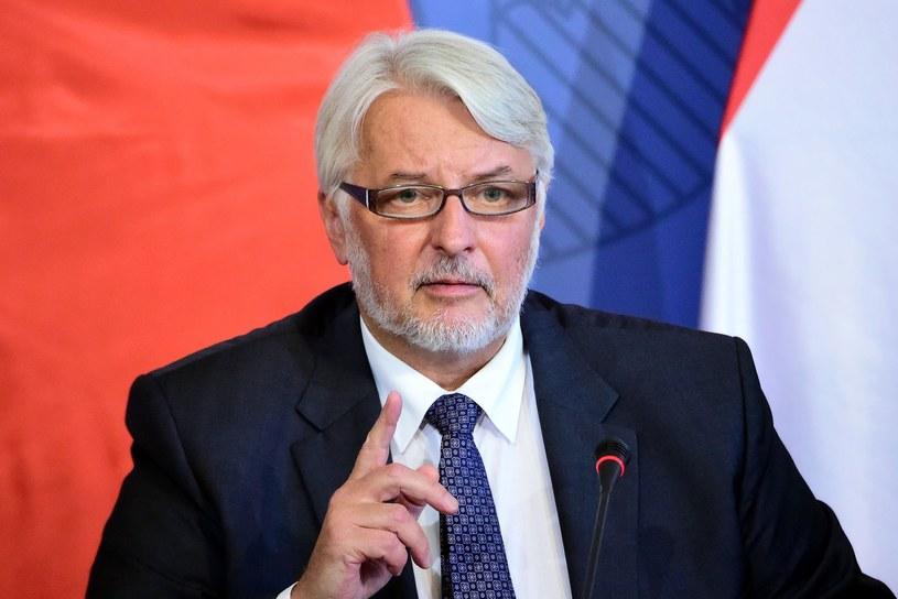 Witold Waszczykowski /Attila Kisbenedek /AFP