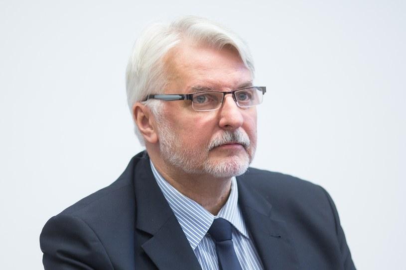 Witold Waszczykowski /Maciej Stanik /Reporter