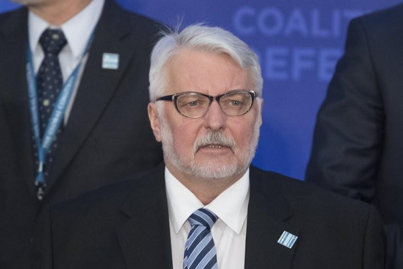 Witold Waszczykowski /MICHAEL REYNOLDS    /PAP/EPA