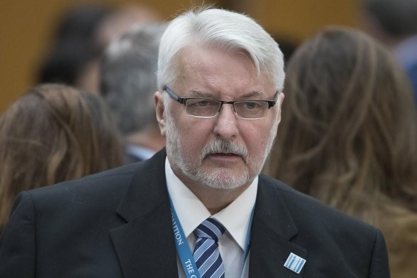 Witold Waszczykowski /PAP/EPA