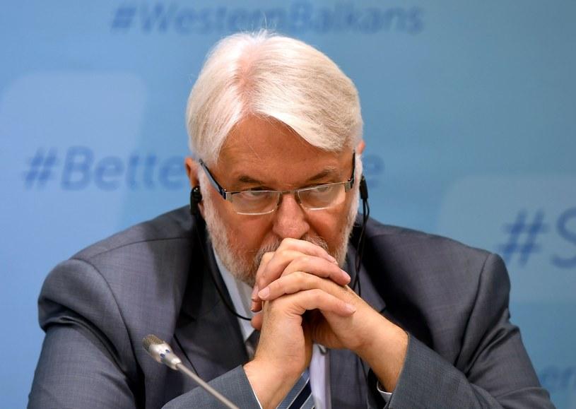Witold Waszczykowski /AFP PHOTO / ATTILA KISBENEDEK /East News