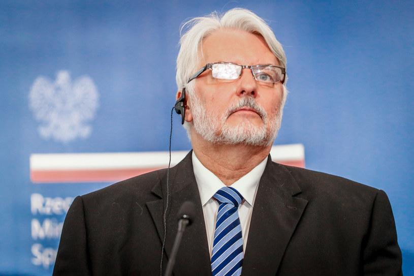 Witold Waszczykowski /Andrzej Iwańczuk /Reporter