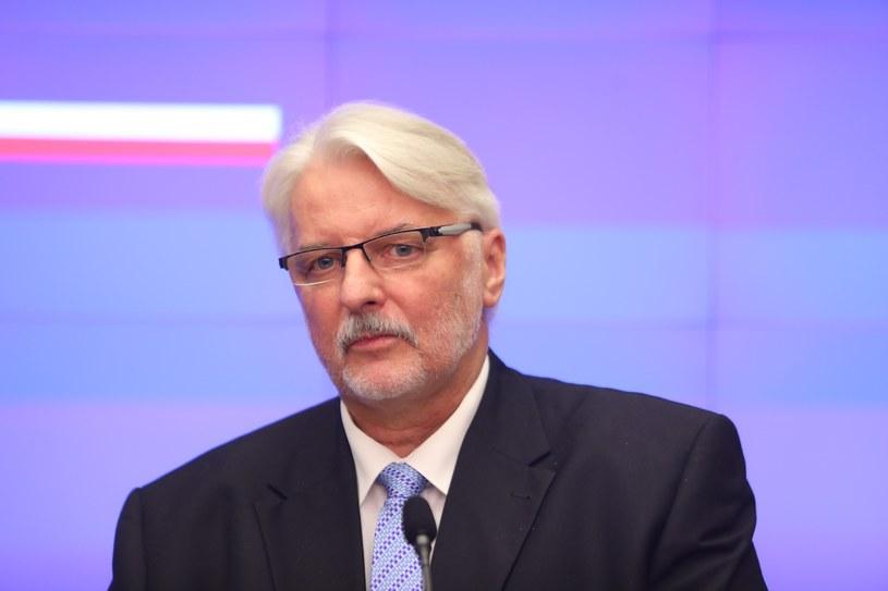 Witold Waszczykowski /STANISLAW KOWALCZUK /East News