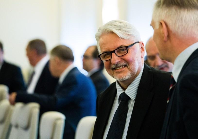 Witold Waszczykowski /Krystian Dobuszyński /Reporter