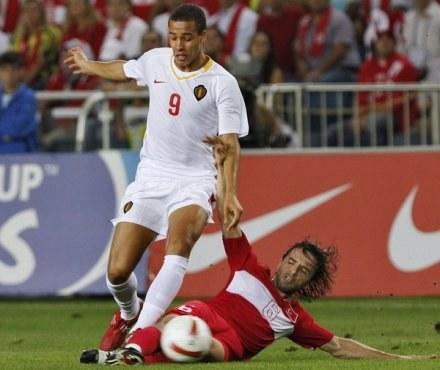 Witsel ma już na koncie występy w pierwszej reprezentacji Belgii /AFP