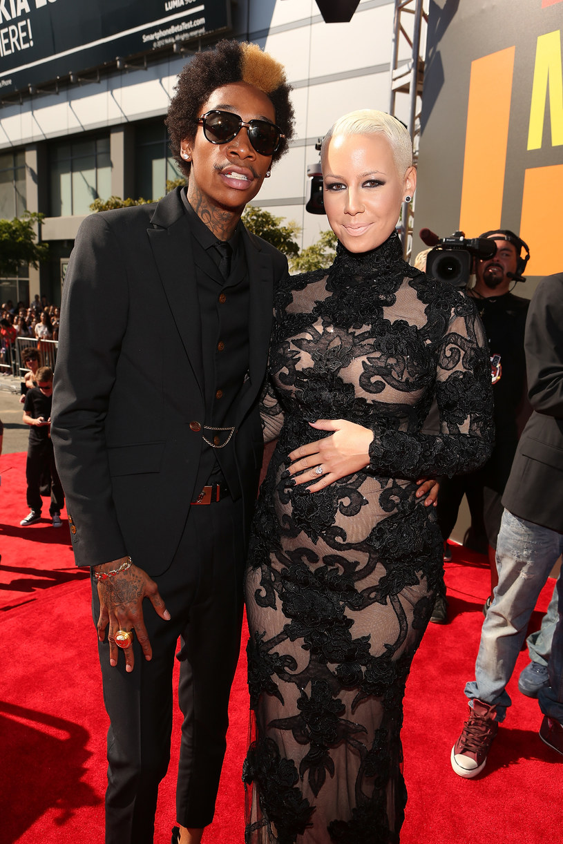 Wiz Khalifa i Amber Rose mają syna /Christopher Polk /Getty Images