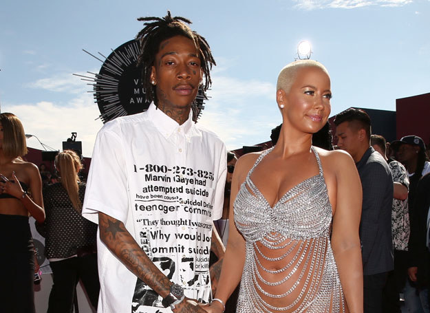 Wiz Khalifa i Amber Rose /Getty Images