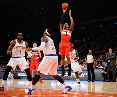 Wizards pokonali Knicks, dziewięć punktów Gortata