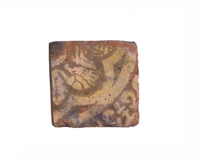Wizerunek bestii na płytce znalezionej w dawnym szambie /materiały prasowe