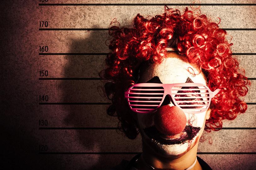 Wizerunek klauna został przejęty przez przestępców; zdj. ilustracyjne /123RF/PICSEL