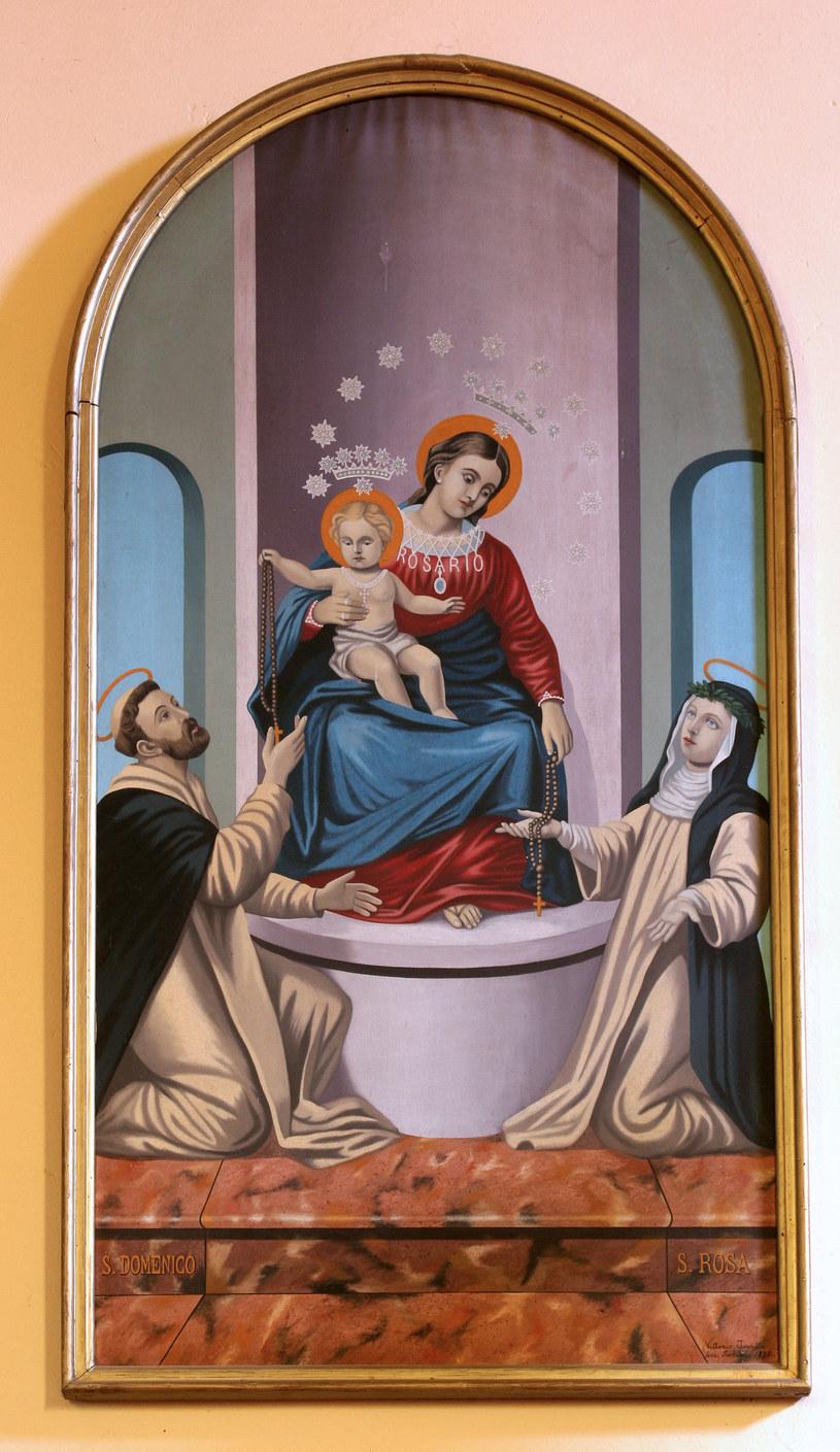 Wizerunek Matki Bożej Różańcowej z sanktuarium w Pompejach /123RF/PICSEL