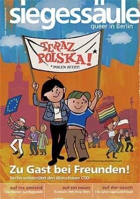 Wizerunki Bolka i Lolka stały się symbolem Parady Równości /
