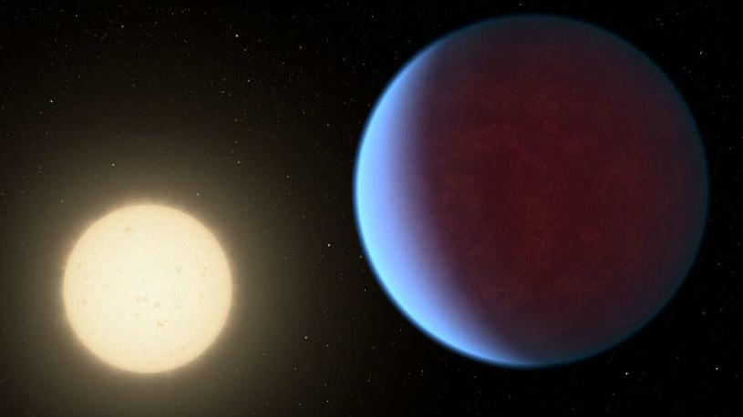Wizja artystyczna egzoplanety 55 Cancri e /NASA