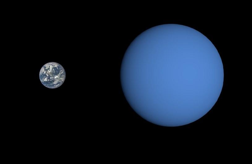 Wizja artystyczna Gliese 3470 b /materiały prasowe