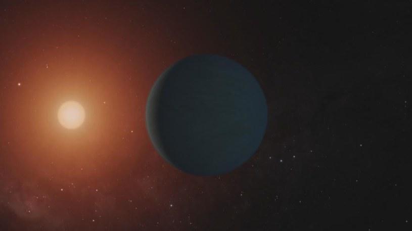 Wizja artystyczna HD 106906 b /NASA