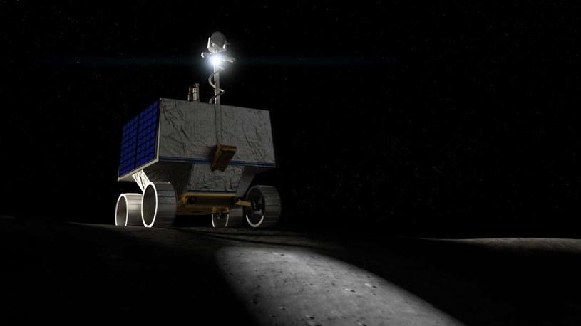 Wizja artystyczna łazika VIPER /NASA