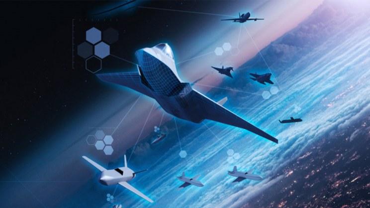 Wizja artystyczna myśliwca Tempest /materiały prasowe
