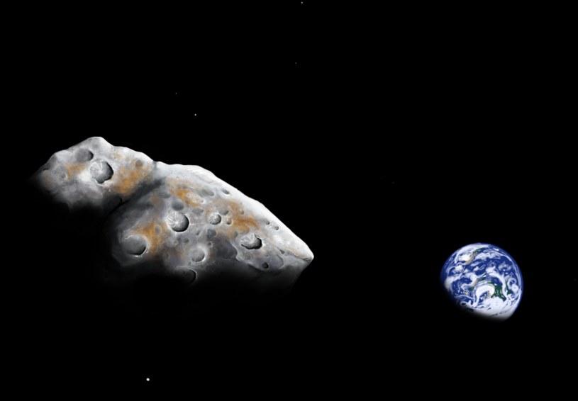 Wizja artystyczna planetoidy 1986 DA /Fot. Addy Graham/University of Arizona /materiały prasowe