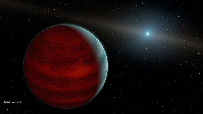 Wizja artystyczna planety HIP 65426b /materiały prasowe