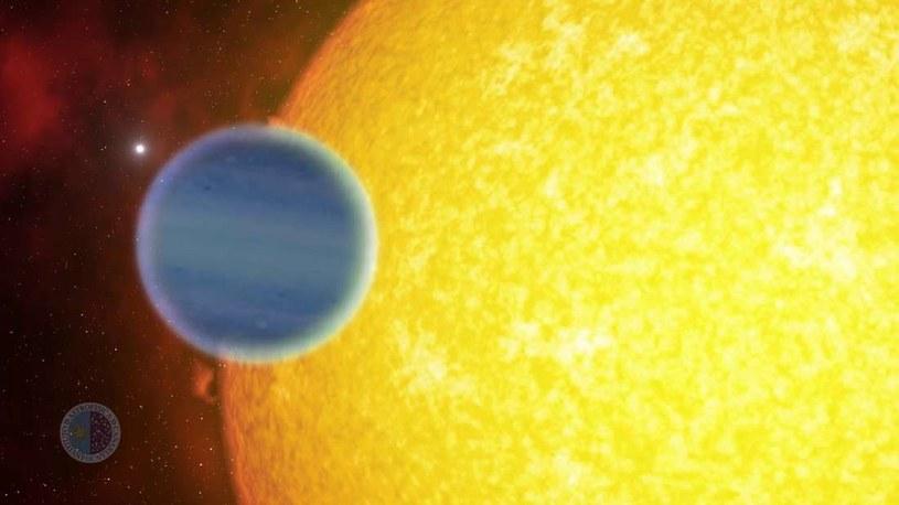 Wizja artystyczna planety WASP-127b /materiały prasowe