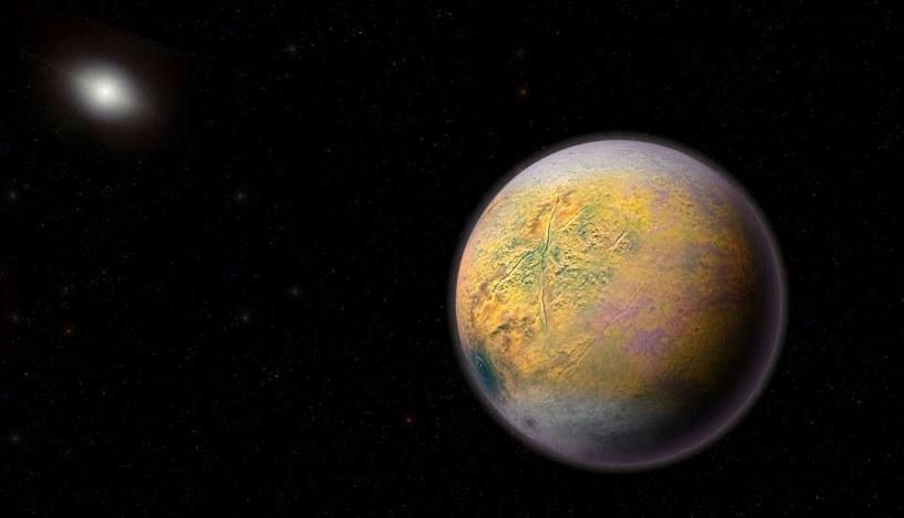 Wizja artystyczna Planety X /materiały prasowe
