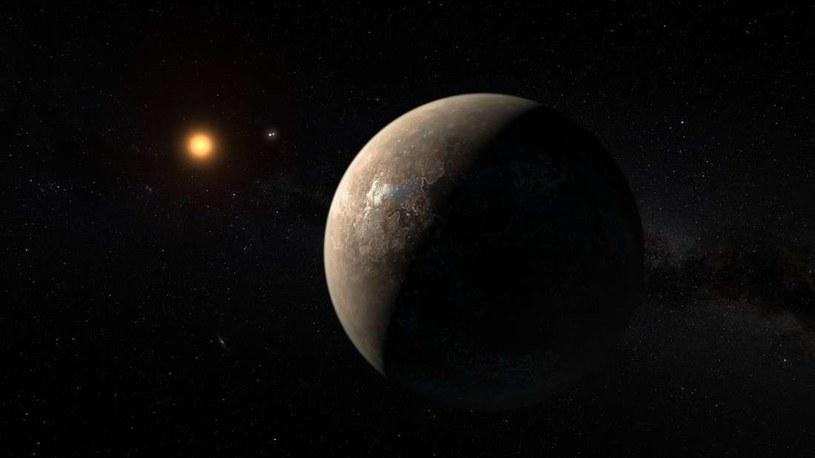 Wizja artystyczna Proxima b /NASA