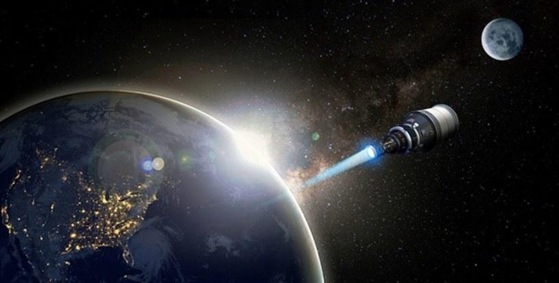 Wizja artystyczna rakiet NTP /materiały prasowe