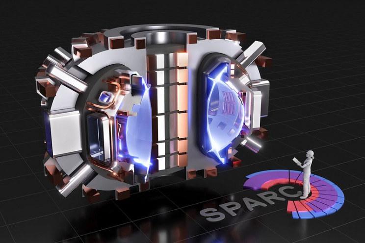 Wizja artystyczna reaktora SPARC /materiały prasowe