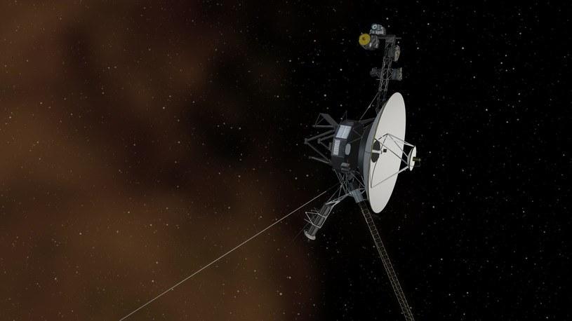 Wizja artystyczna sondy Voyager 1. Sonda została wysłana w kosmos 5 września 1977 roku /NASA