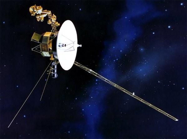 Wizja artystyczna sondy Voyager 1 /materiały prasowe